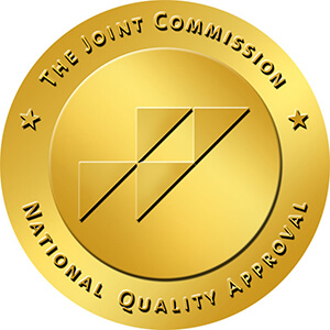 The Joint Commission National Quality and Approval seal
