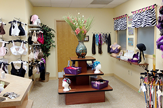 view of the Breast Boutique